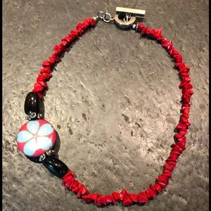 Women's handmade necklace